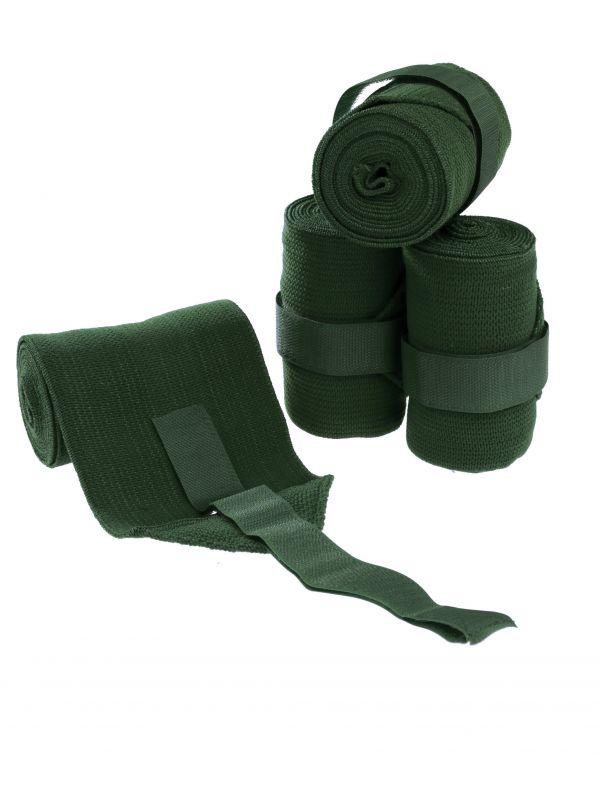 Groene Elastische Bandages