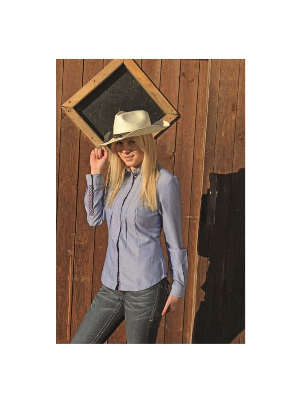 Westernblouse -Denim-