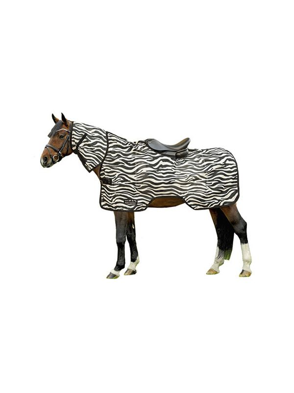 Vliegenuitrijdeken -Zebra-