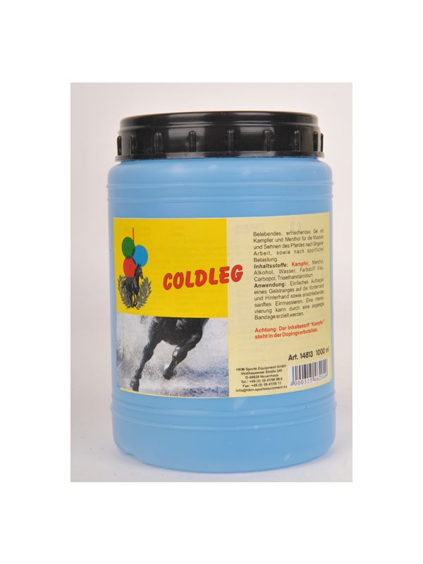 Coldleg, cooling gel, 1 L