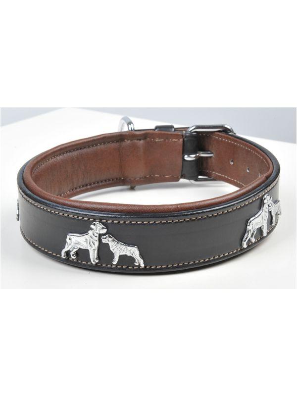 Hondenhalsband leder -Dogs-