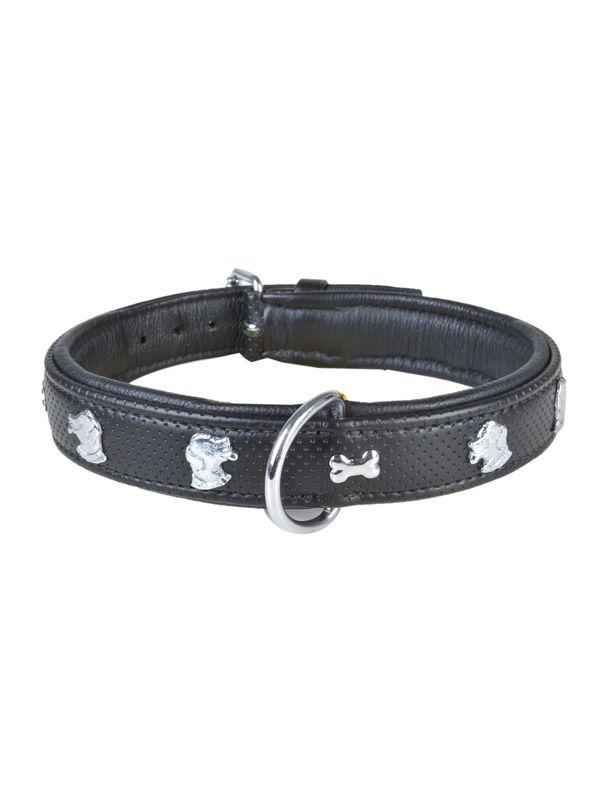 Hondenhalsband leder -Max-