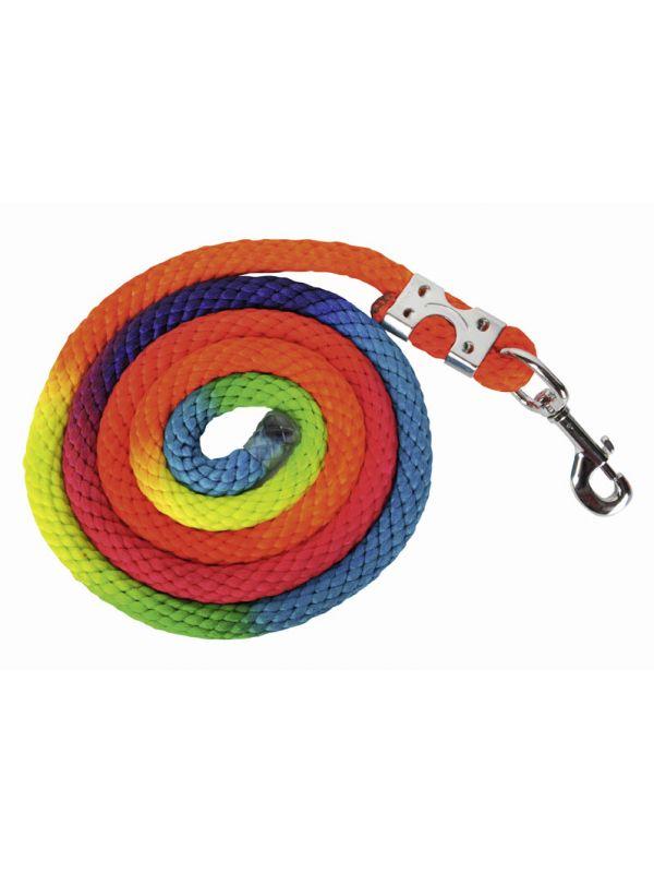 Halstertouw -Multicolor- karabijnhaak