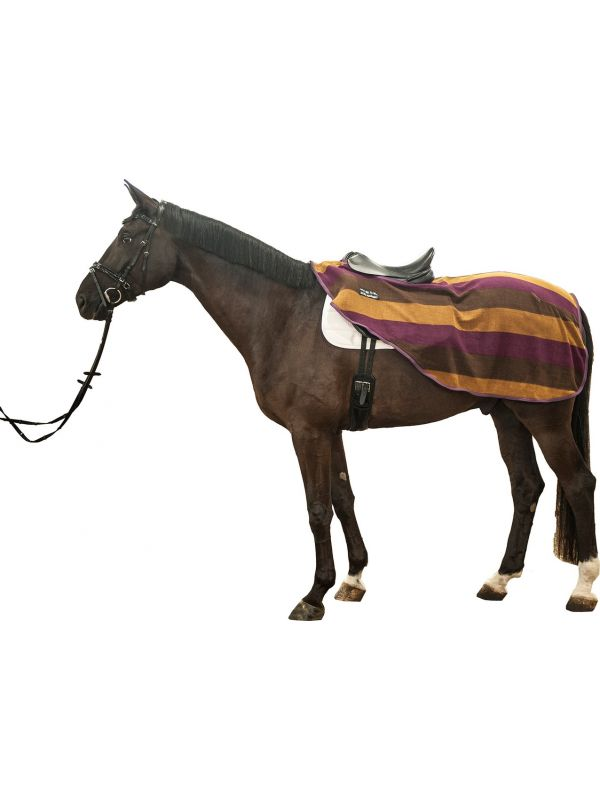 Zweetdeken -Colour stripes- met klittenbandsluiting