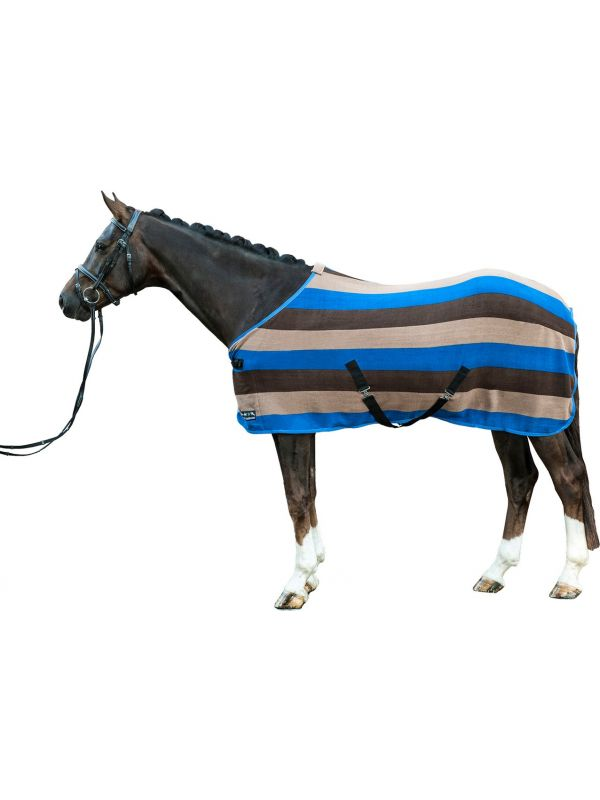 Zweetdeken - Colour stripes - met kruissingel