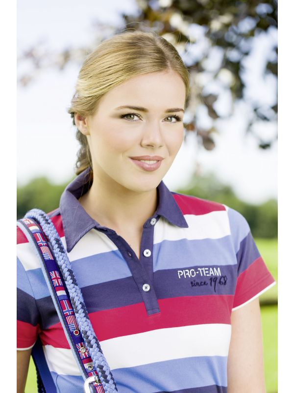 Poloshirt -International Stripe-