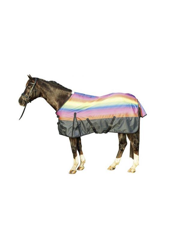 Outdoordeken -Rainbow- met 300g Wattenvulling