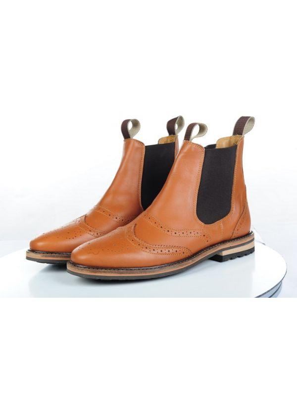 Jodhpur schoenen -Rex rom- echt leer