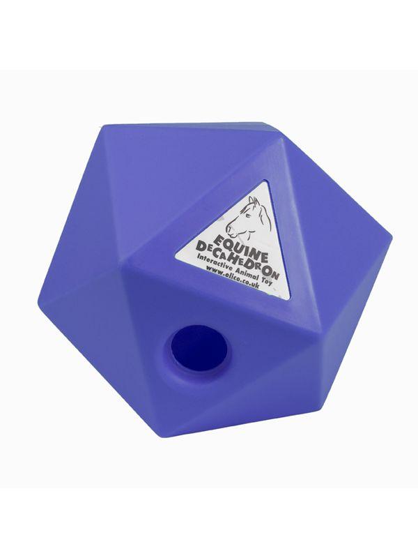 Decahedron traktatie cube Blue 25cm