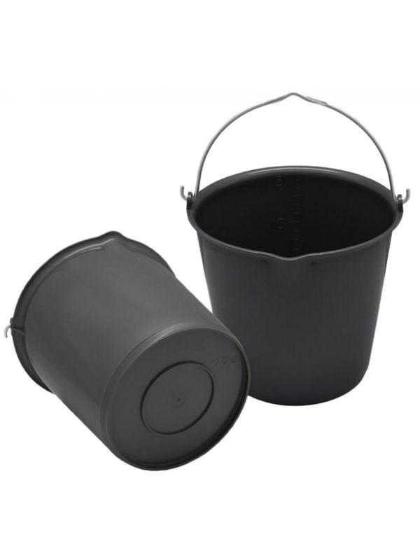 Emmer 15 liter met schenktuit Licht groen