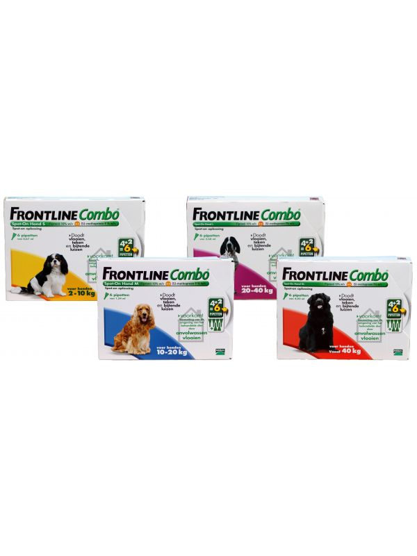 Frontline Combo 4+2 Spot-On Hond XL