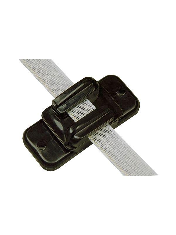 Isolator Lint/koord/draad Zw tot 20mm