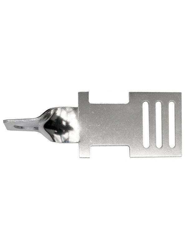 Lint begin- en eindplaatje Aluminium