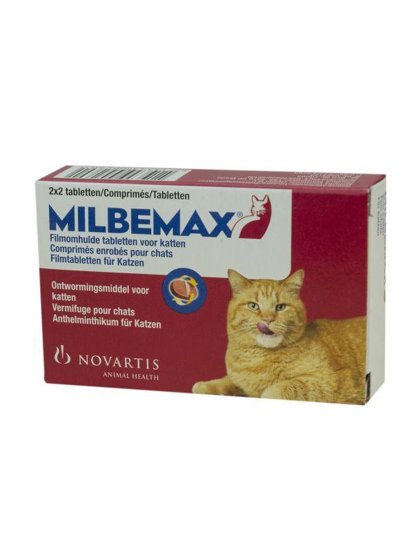 Milbemax Kat Klein 2 tabl. 0,5-2kg