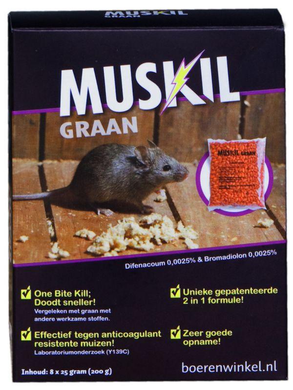 Muskil graan muis (2x25g)