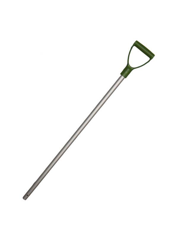 Schop steel Alum. + handvat green