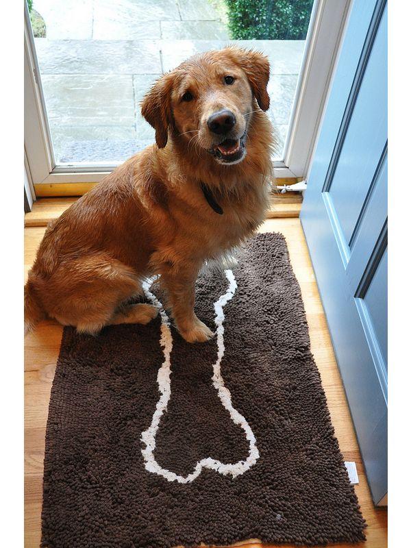 Soggy Doggy Doormat Large Grey (66x91cm)