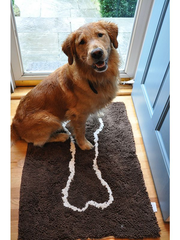 Soggy Doggy Doormat Extra Large Grey (91x152cm)