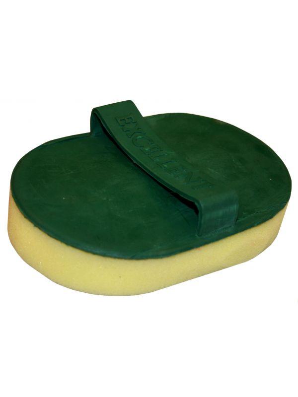 Zweetspons + rubber met handvat