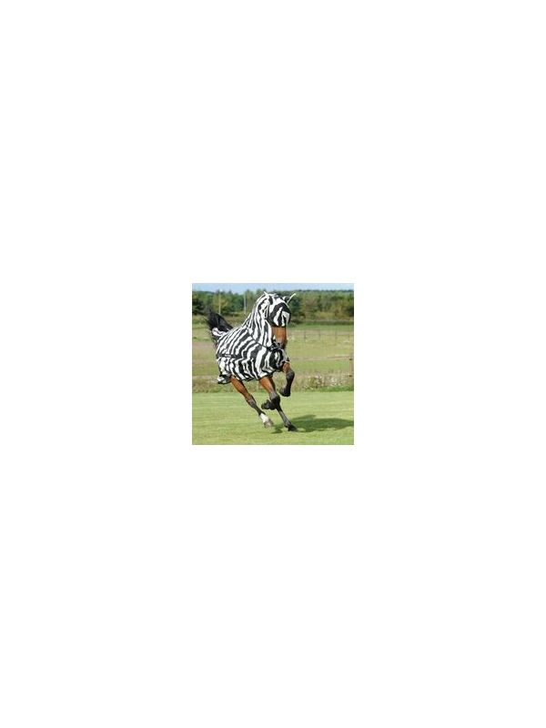 Bucas buzz off Zebra full neck