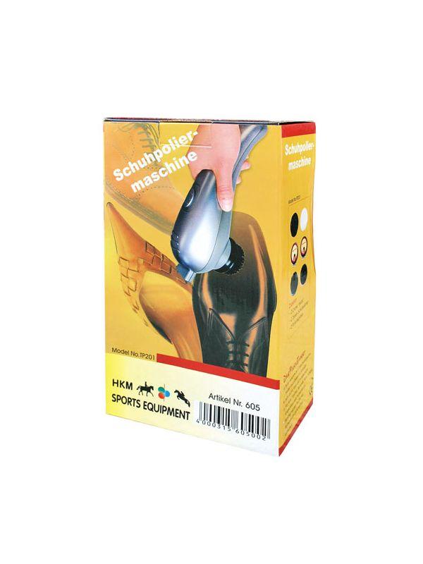 Polijstmachine voor schoenen met borstels en toebehoren
